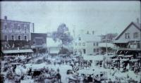 West End of Market Square, Houlton, 1914