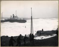 Wreck and rescue, the Oakey L. Alexander, March 3, 1947