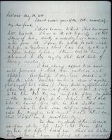 John Neal letter, 1850