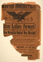 18th Regiment recruiting poster, Aroostook County, 1862