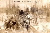 Lombard Haulers, Island Falls, ca. 1910