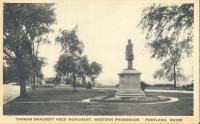 Thomas Brackett Reed monument, Portland, ca. 1910