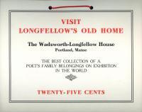 Wadsworth-Longfellow House sign, Portland, ca. 1901