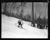 Skiing, Jockey Cap, Fryeburg, 1936