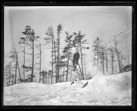 Ski jump, Fryeburg, 1936
