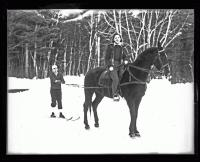 Getting pulled, Fryeburg, 1936