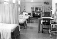Multi-bed ward, Eastern Maine Medical Center, ca. 1970
