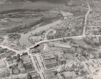 Aerial photograph of Houlton, 1952