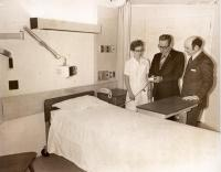 Patient Room at Eastern Maine Medical Center circa 1972