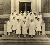 Nurses, Eastern Maine General Hospital, ca. 1943