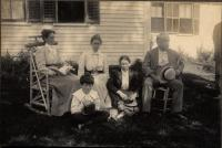 John D. Long and Family, Buckfield, 1899