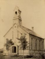 Court Street Baptist Church, Houlton, ca. 1866