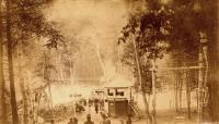 Crescent Park, Lake Nickerson, Houlton, c. 1900