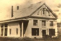 Aroostook Times building, Houlton, ca. 1890