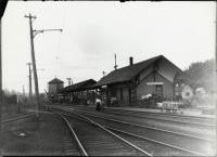 Railroad Station, Springvale, ca. 1900