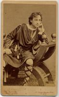 Edwin T. Booth as Hamlet, ca. 1870