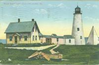 Wood Island Lighthouse, Biddeford ca. 1890