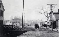 Morning of Great Fire, Springvale, April 14, 1905