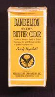 Dandelion Brand Butter Color, ca. 1963