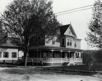 The Home of Hiram B. Rowe, Springvale, ca 1910