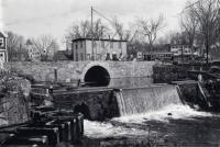 The Dam at Bridge Street, ca 1907