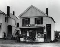 Weeks and Cheney Store, Main Street, Springvale, ca 1890