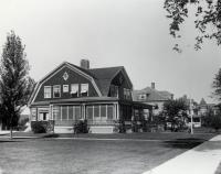 Houses Along Main Street, Sanford, ca 1917