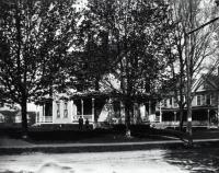 Residences on Main Street, Springvale, ca 1910