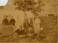 Mary Moody and Family, Rumford, ca. 1885