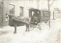 Cushman Baking Company delivery truck, Portland, ca. 1920
