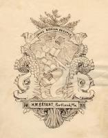 H.W. Bryant bookplate sketch, 1893