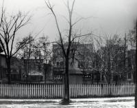 Looking from School Street to Main Street, Sanford