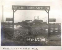 Portland Iron and Steel Company, 1906