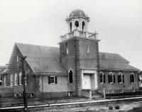 The New Unitarian Church, corner Main & Lebanon Streets, Sanford, ca 1918