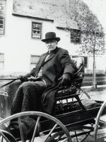 Man in carriage, Sanford, ca. 1900