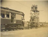 Stretching The Trolley Wire Live