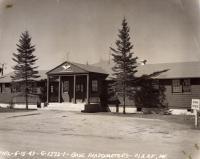 Army Airfield Headquarters, Presque Isle, 1943