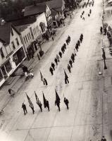 Memorial Day parade, Presque Isle, 1944
