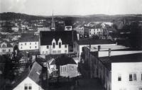 View from Town Hall, Sanford, ca. 1910