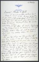 Walter Hustus letter from Salt Lake City, 1943