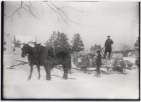 Log hauling, Fryeburg