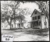 Portland Street, Fryeburg, 1907