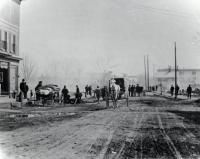 Main Street, Springvale, Following the 1905 Fire