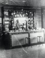 Trafton's Drug Store, Springvale, ca 1905