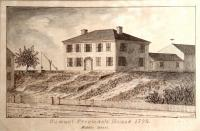 Goodhue drawing of Samuel Freeman house, 1895
