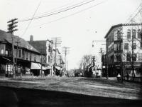 Sanford Square Looking Down Washington Street, Sanford,c a 1905
