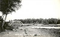 Blue Hill Falls Bridge, ca. 1930