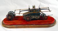 Hand-pump fire engine model, Portland, ca. 1850