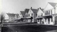 Main Street Looking North, Springvale, ca 1890