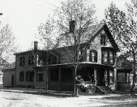 Main and Pleasant Streets, Sanford, ca 1905